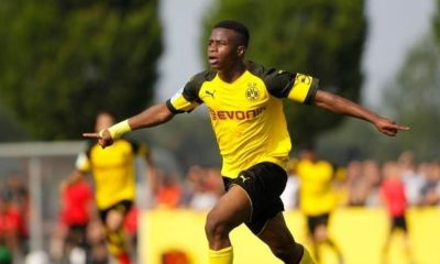 Bundesliga: Crazy contract: 14-year-old Moukoko to earn ten million euros