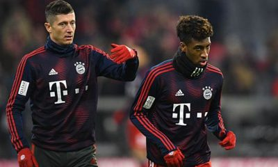 Bundesliga: Were Lewy and Coman going at each other?