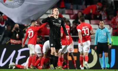 Europa League: Hattrick Felix and dismissal: Frankfurt outnumbered without a chance