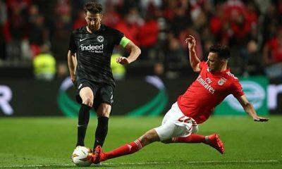 Europa League: Lisbon - Frankfurt: The highlights of the first leg of the quarter finals