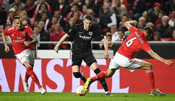 Europa League: Who broadcasts / shows Eintracht Frankfurt against Benfica Lisbon live on TV/STREAM today?