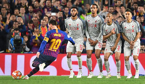 Champions League: How Messi became the best free-kicker in the world
