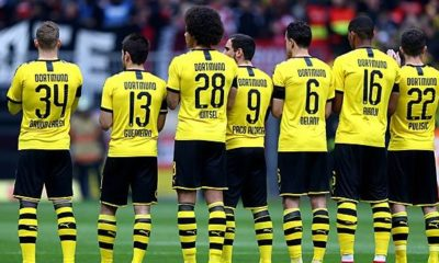 Bundesliga: Police investigates anti-Nazi posters with BVB players