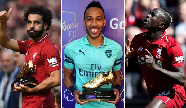 Top scorer in the Premier League: Who won the Golden Boot in