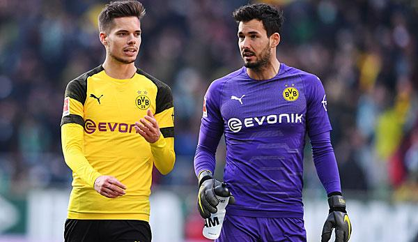 Bundesliga: Bürki probably plays despite muscular problems