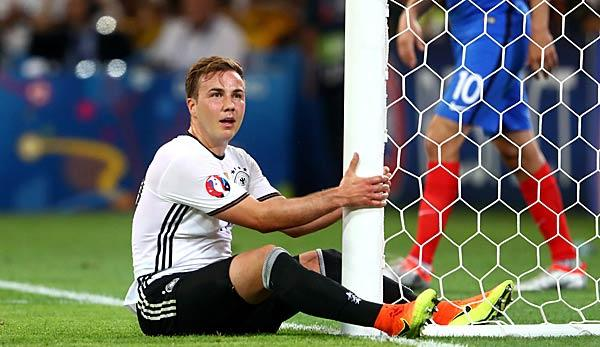 DFB-Team: Götze: I was sadder than ever at the World Cup
