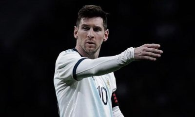 """International: Messi: """"Will career end with Albiceleste title"""""""