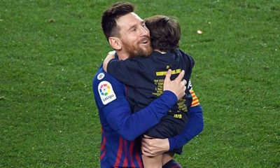 Primera Division: Messi reveals: My son cheers Real goals