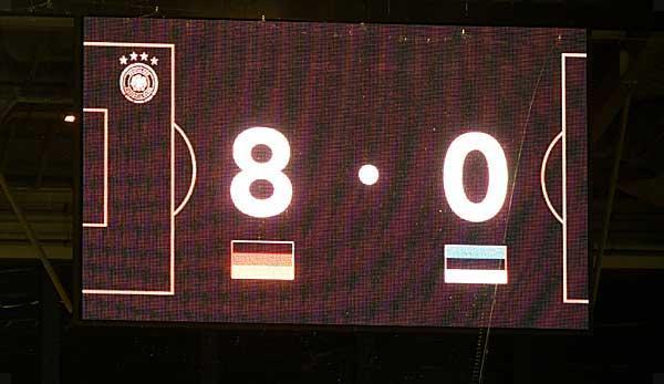 DFB-Team: The DFB broke these records against Estonia