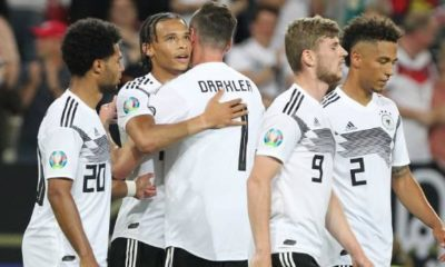 DFB-Team: FIFA World Ranking: DFB team climbs to eleventh place