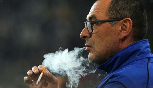 Serie A: Sarri: How many cigarettes do I smoke per day?