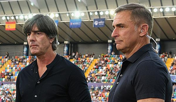 """DFB team: Joachim Löw praises European Under-21 vice-champion: """"They gave off a great business card""""."""
