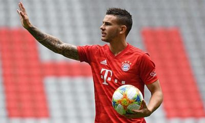 Bundesliga: Lucas Hernandez starts running training