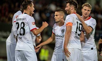 Europa League: Kantersieg in Vaduz! Eintracht Frankfurt can plan for playoffs