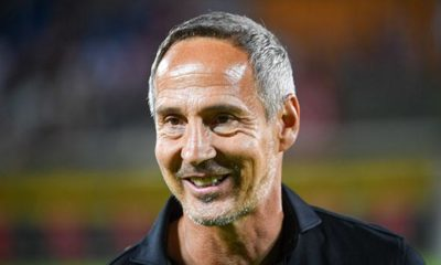 Europa League: Adi Hütter celebrates Kantersieg with Eintracht Frankfurt